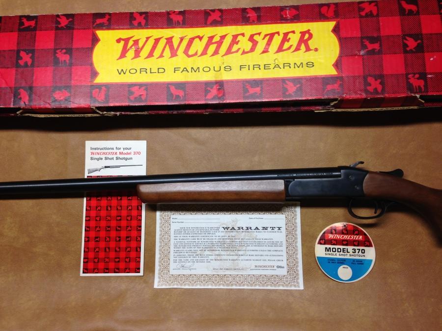 i have a new condition winchester model 370 28 gauge with the box rh gunvaluesboard com Winchester 37A Winchester 370 12 GA