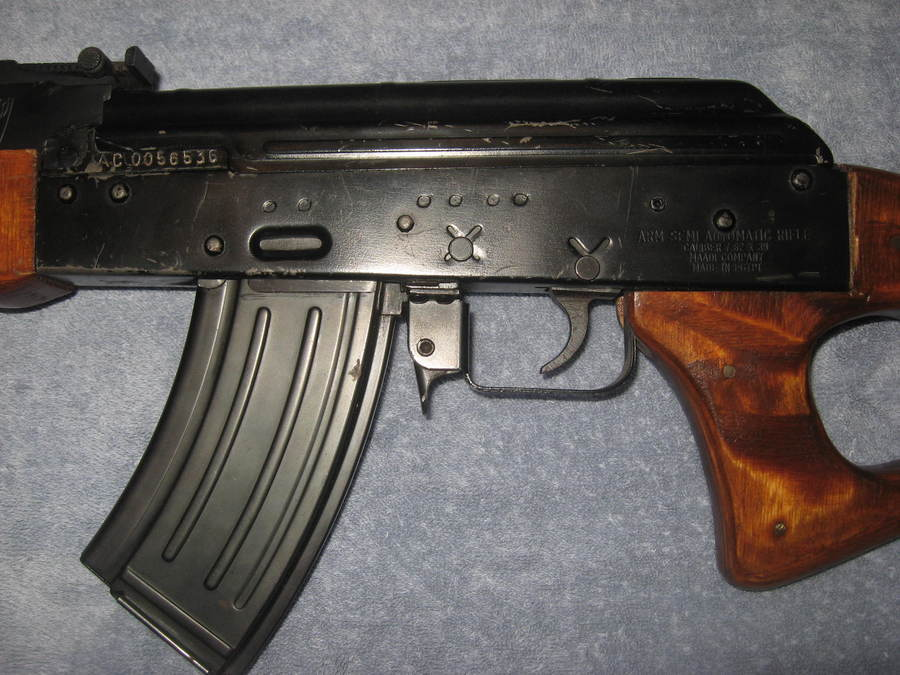 I have a maadi ak47 looking for rough value gun values board egyptian maadi ak47 arm it also has the marks acc int intrac on the side it shoots really good even though it doesnt look all that great thecheapjerseys Gallery