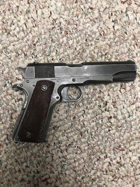 Value Of A 1943 Remington Rand 1911 AI  45 | Gun Values Board