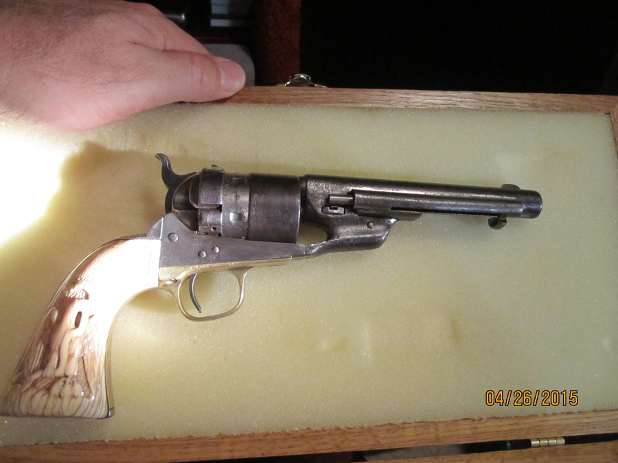 1847 Whitneyville - Walker Colt Dragoon Serial B Company 170