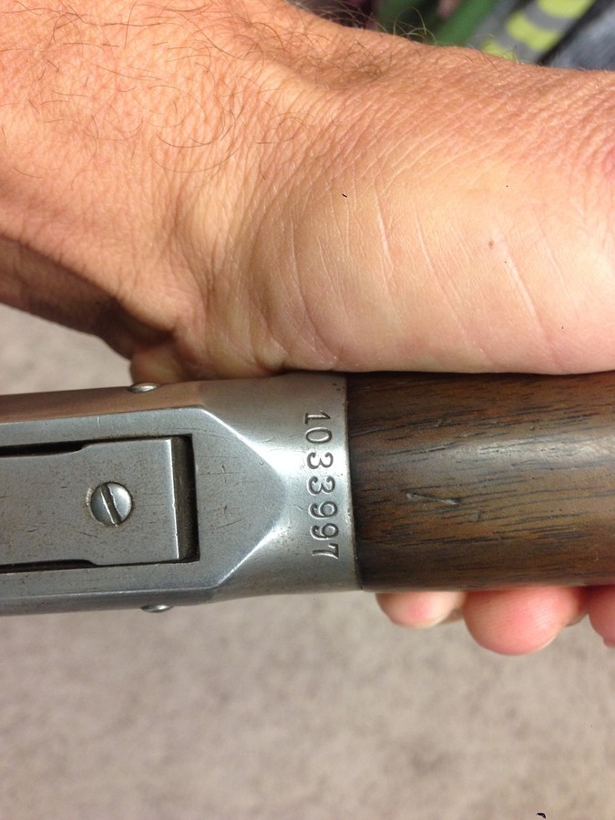 i have a winchester model 94 32 w s and would like to know what