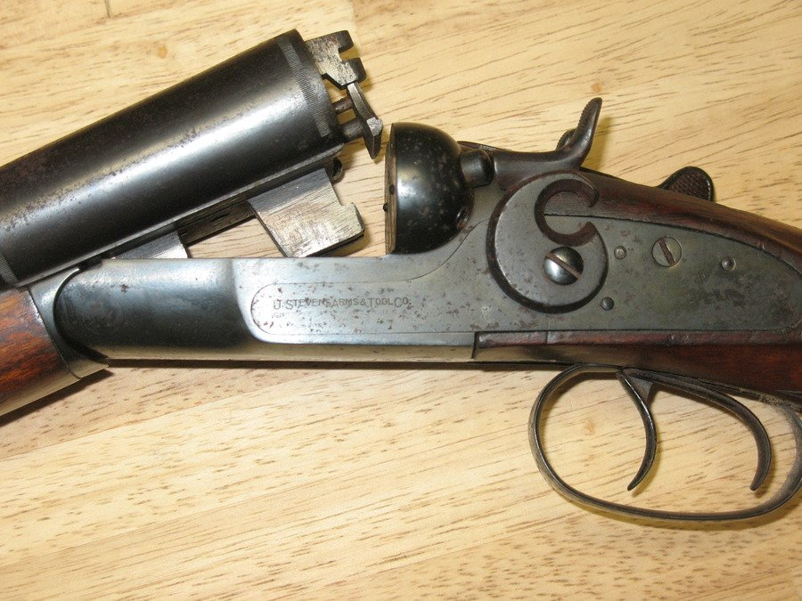 I Discovered A J Stevens Arms & Tool Double Barrel Shot Gun