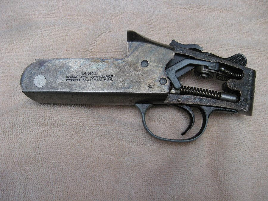 Re Date Manufactured Savage model 24 series S