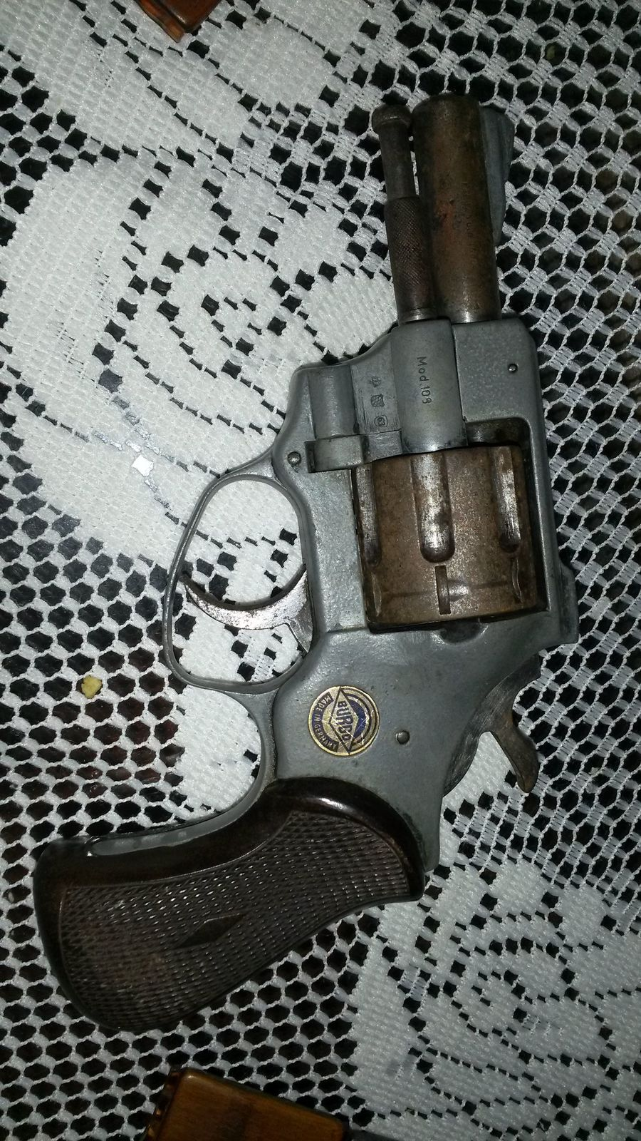 I Have A Burgo Model 108 Made In Germany 7 Shot With Serial