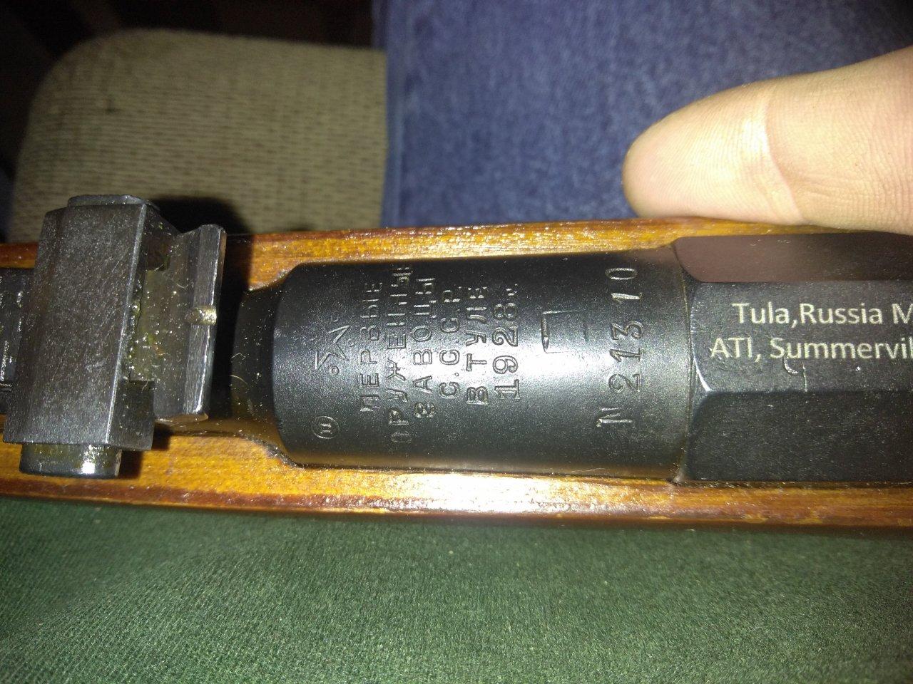 1928 Russian Tula M91/30 1928 | Gun Values Board
