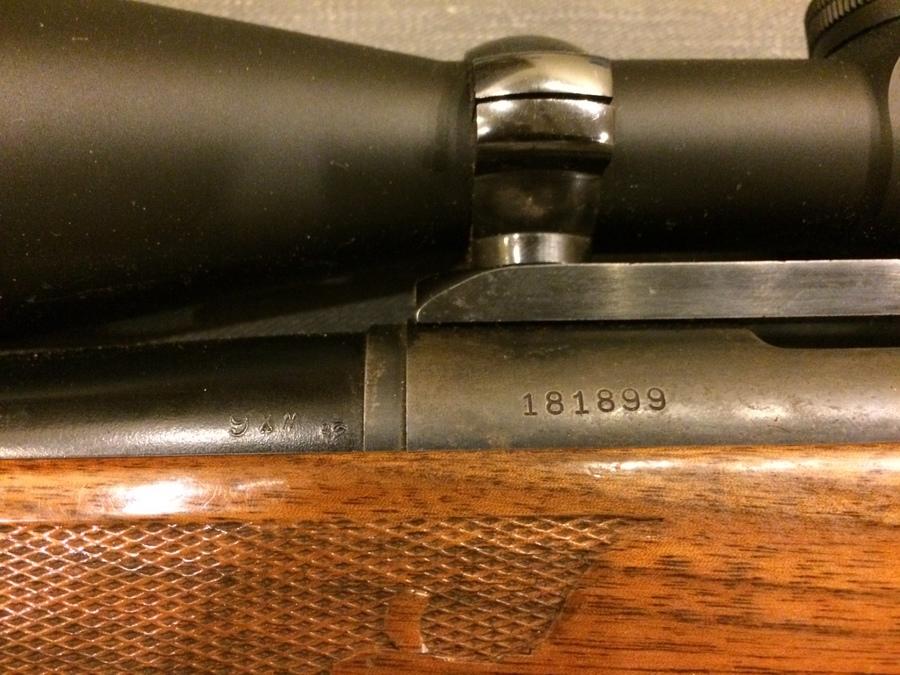 Remington model 700 dating