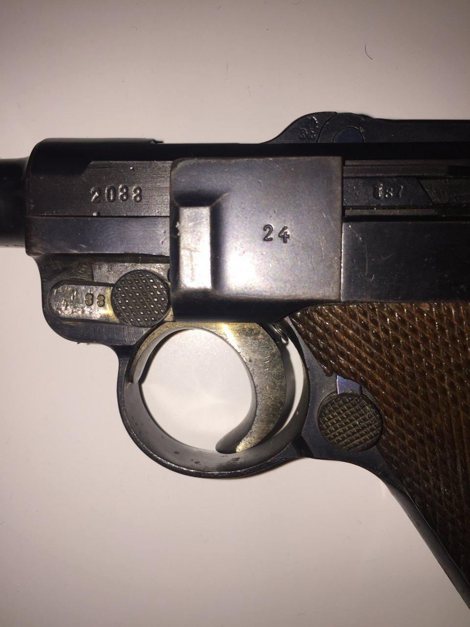 Luger   Gun Values Board