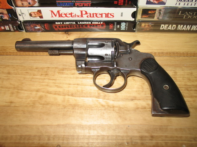 I Have A Colt D  A  41 Revolver, Which Is Written On The