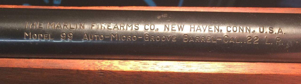 When Was My Marlin Firearms Model 99  22 Rifle Made   Gun