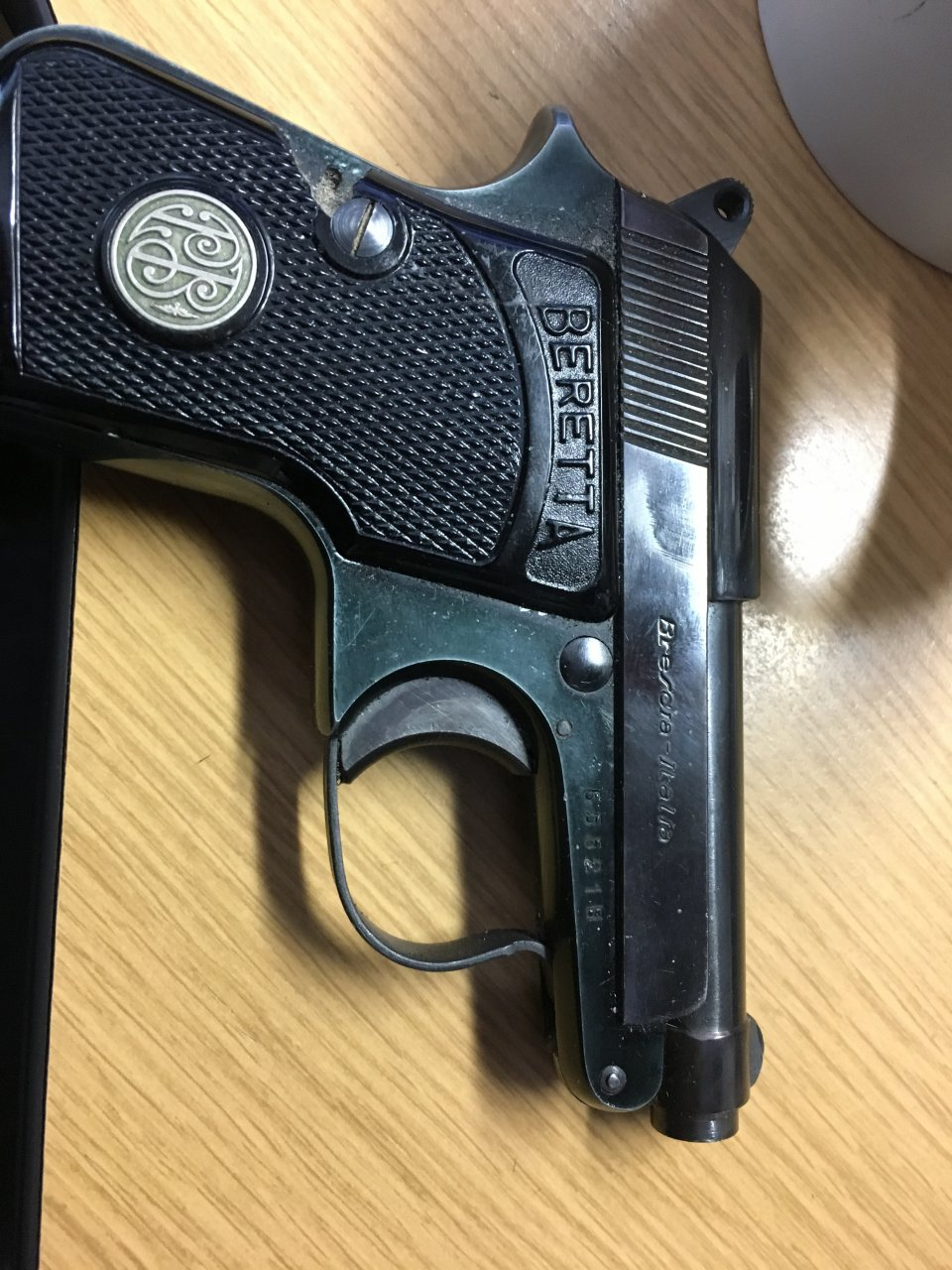 I Have A Beretta Brev  950-6 35, Model Year 1952, PSF, And