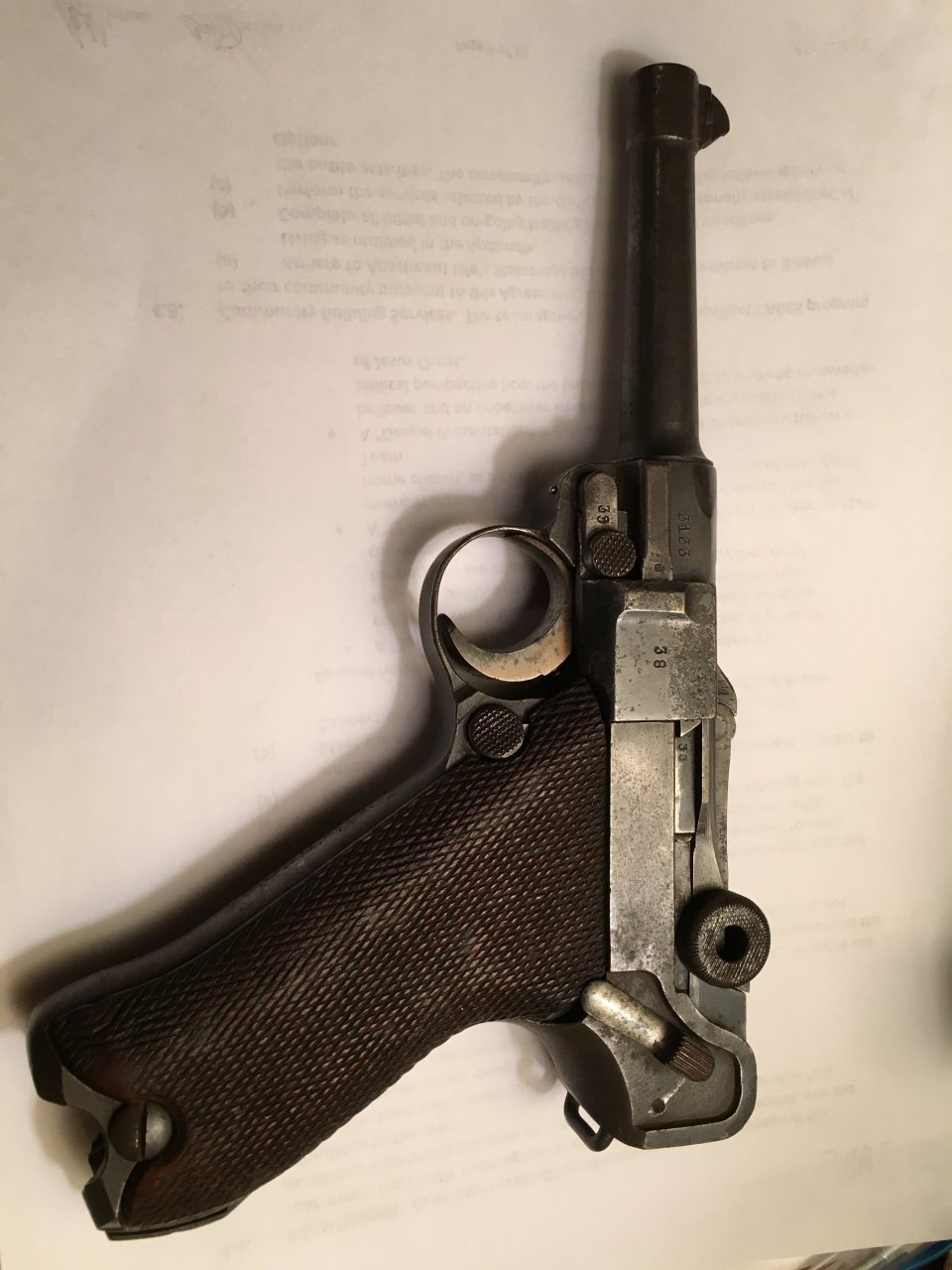 Value Of Luger With 1918 And 1920 Markings | Gun Values Board