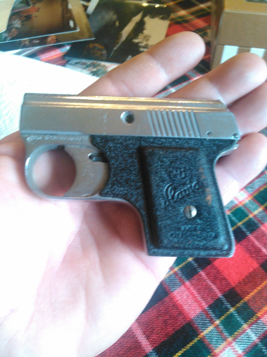 What Can U Tell Me About A Slavia Starter Pistol Ser #384087