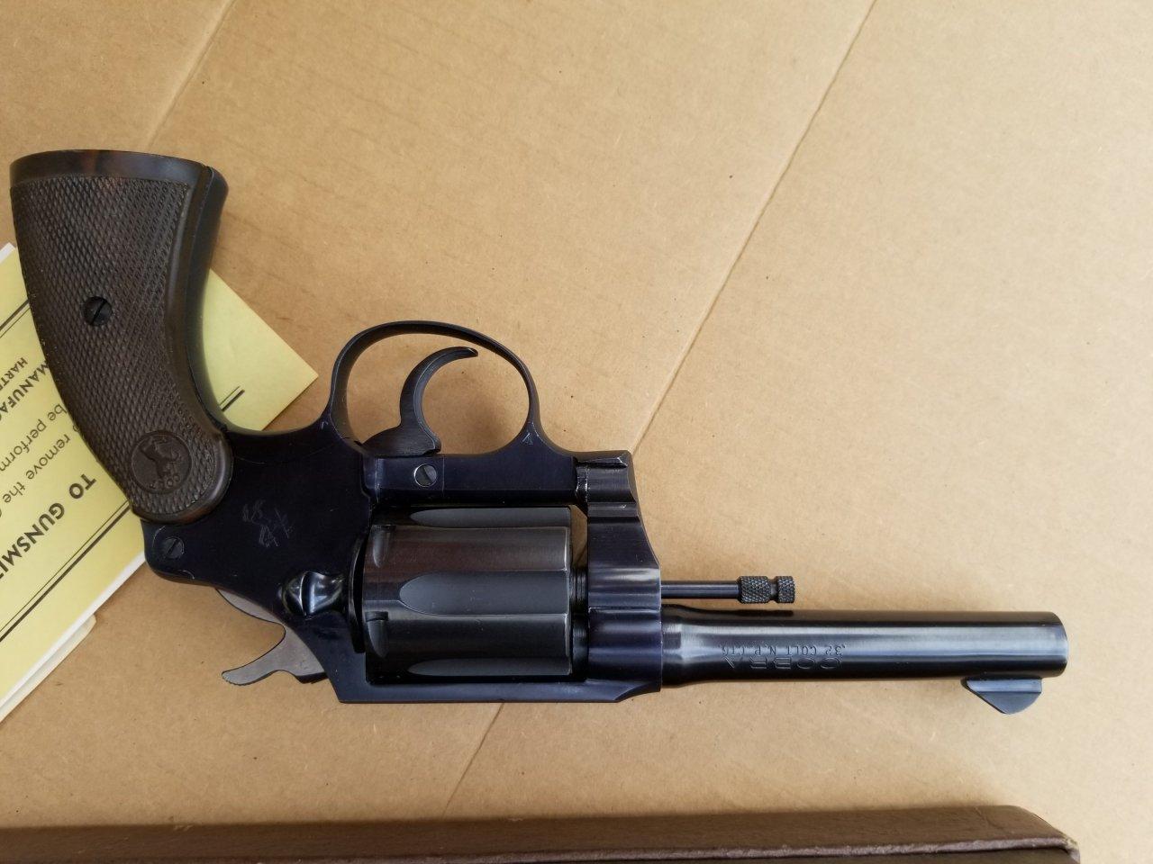 I Have A  32 CAL  Colt Cobra N B  CTG W/ Box & Instructions - The