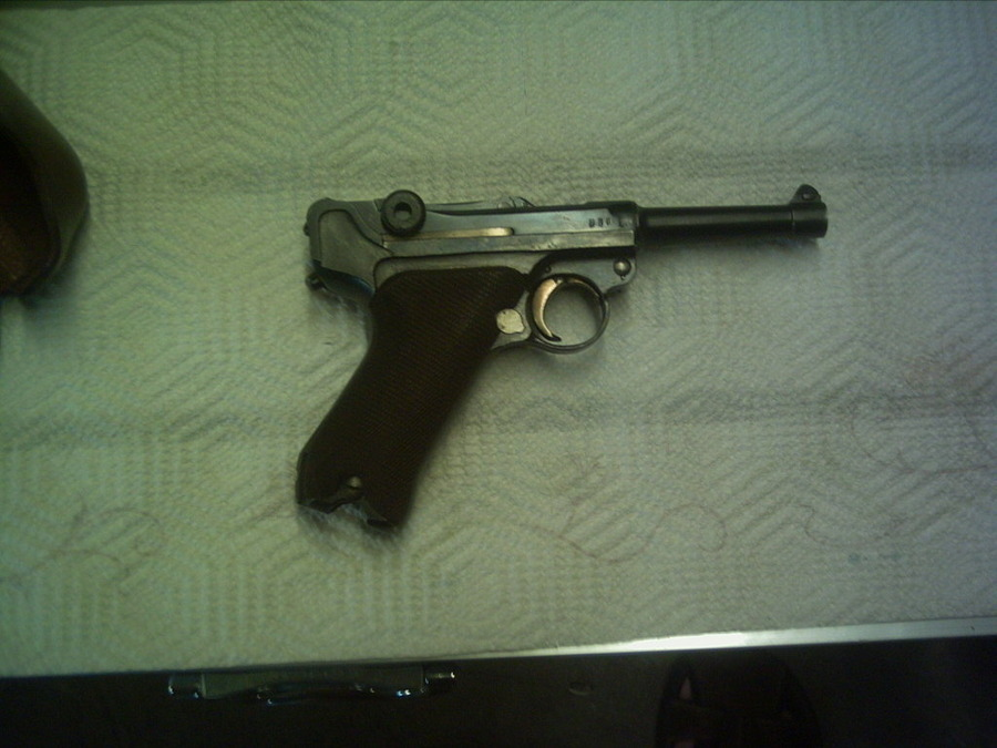 I Have A 1917 German Luger (ERFURT)  It Has All Matching