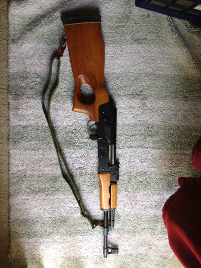 How Much Is A Mak 90 With The Original Thumbhole Stock Worth Gun