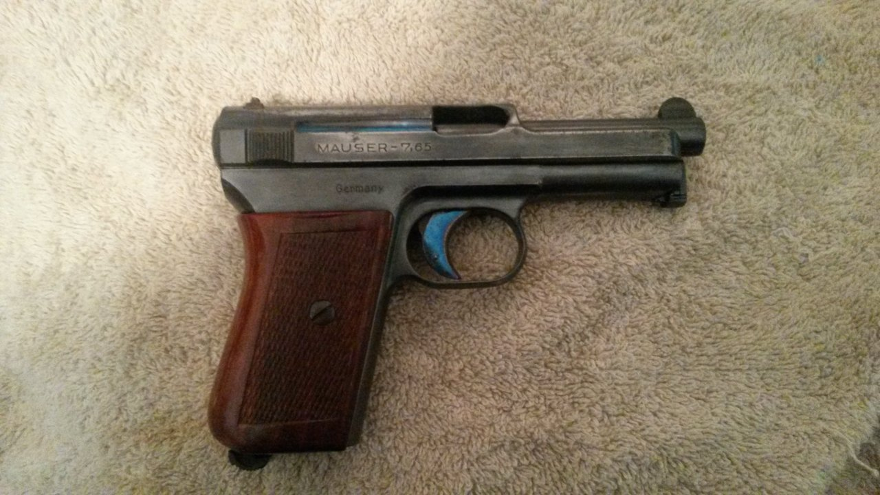 We Inherited A Mauser 7 65 Pocket Pistol From Our Father, Serial