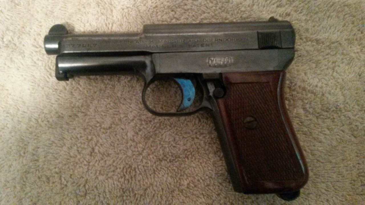 Mauser hsc serial numbers
