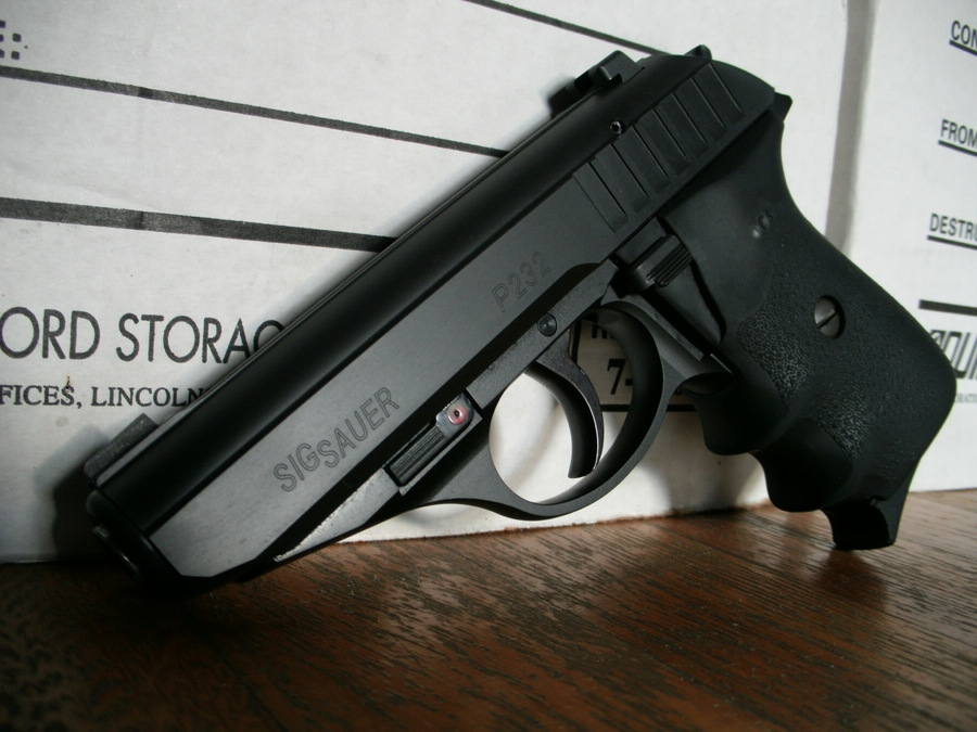value on a sig sauer p232 380 like new condition i understand