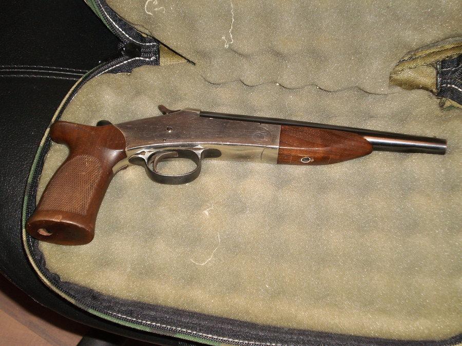 Looking For Single Barrel 410 Gauge Handgun  I Have Seen One