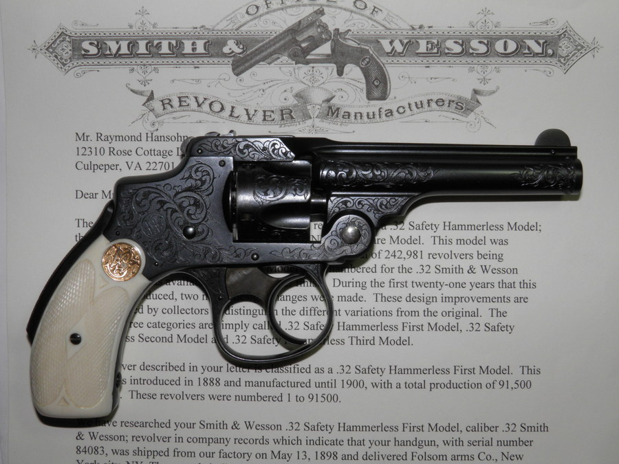 S&W  32 Safety Hammerless First Model | Gun Values Board