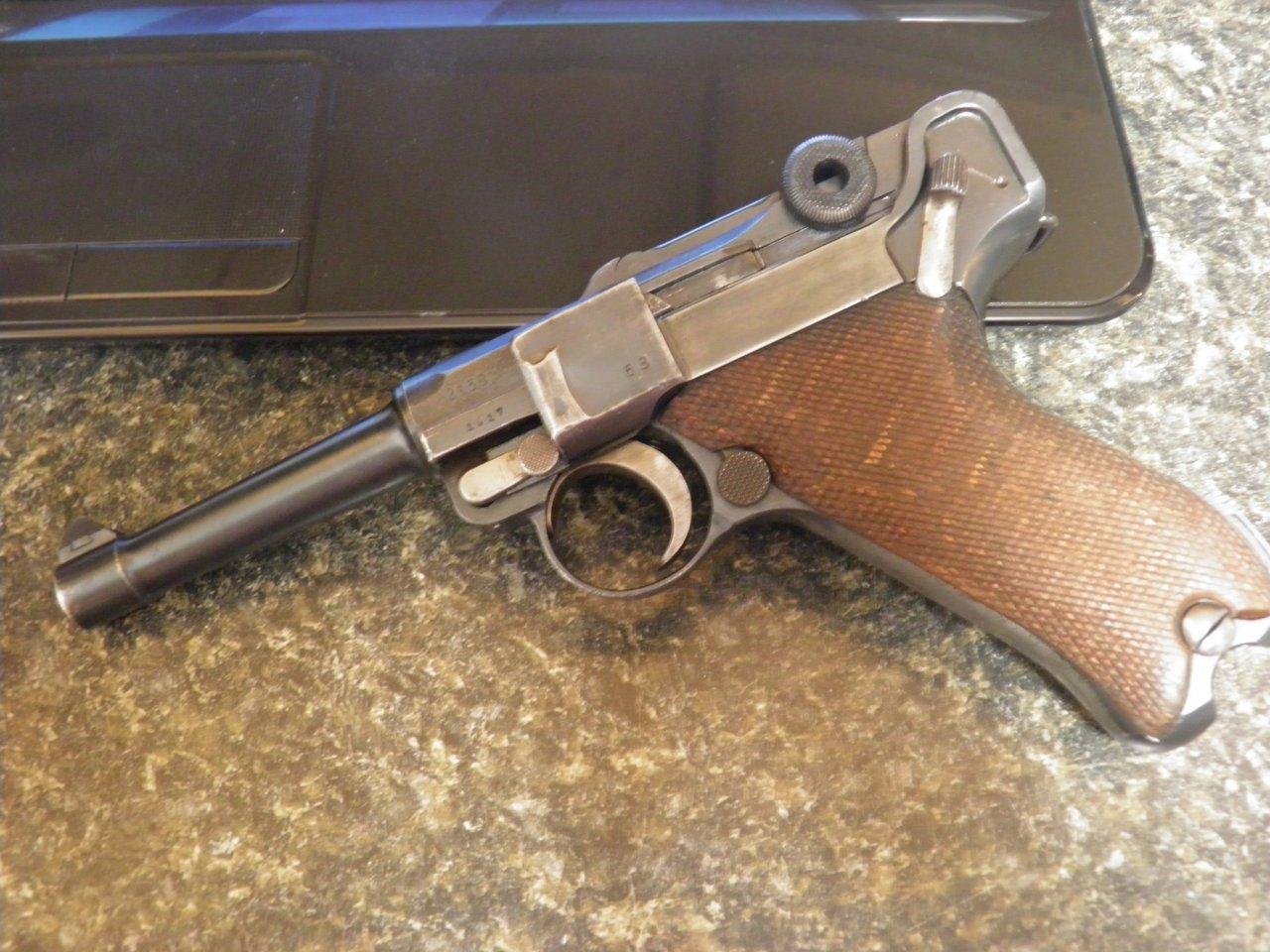 1917/1918 DWM Luger | Gun Values Board