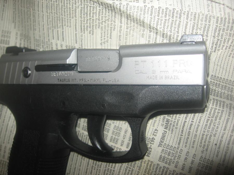 Taurus 9mm Millenium