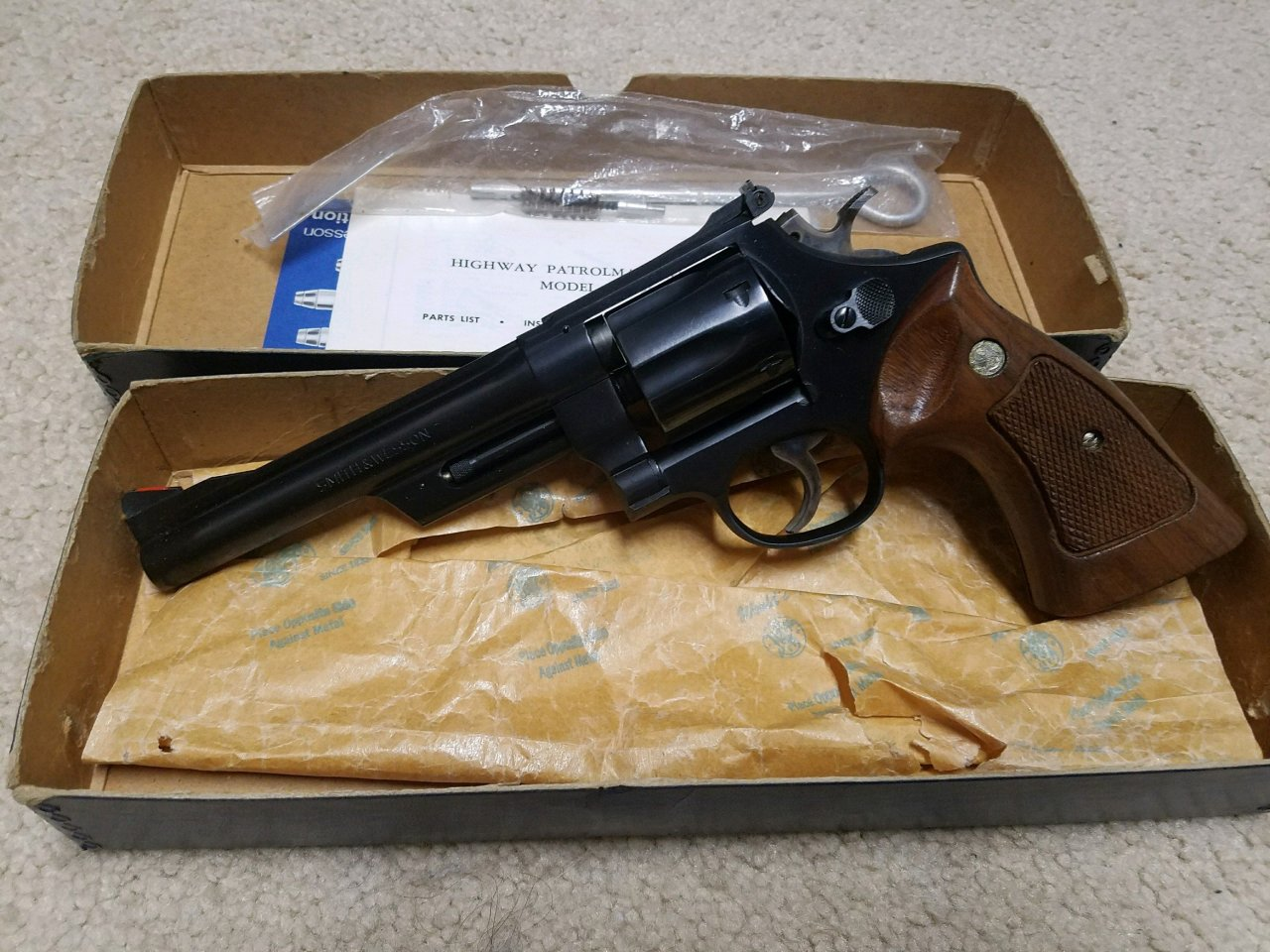 Smith and wesson model 2