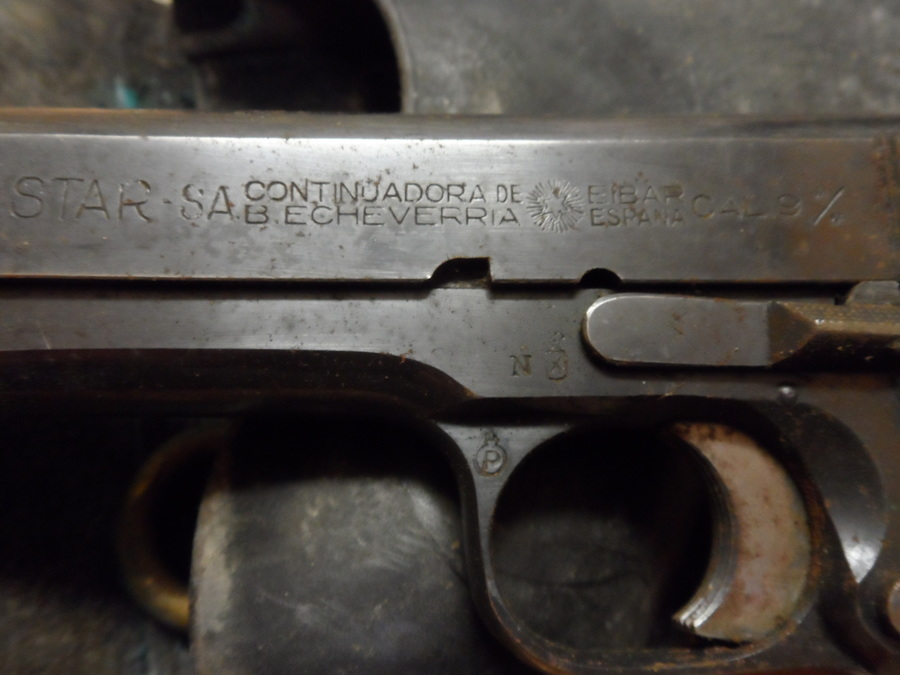 I Just Found A Star SA 9mm Handgun, Possibly A Model N, In