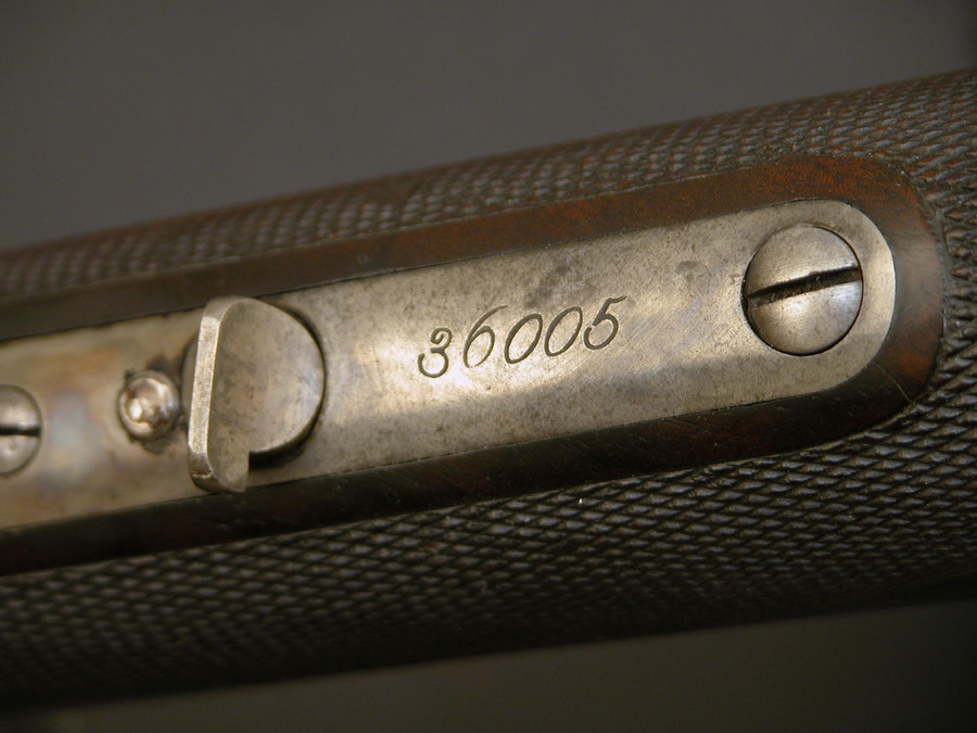 Where Is The Serial Number On Winchester 24 Octagon