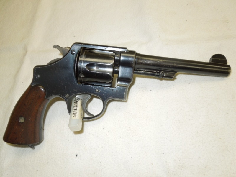 I Have A S&W Model 1917 DA  45 Serial Number 80### That Has A Stamp