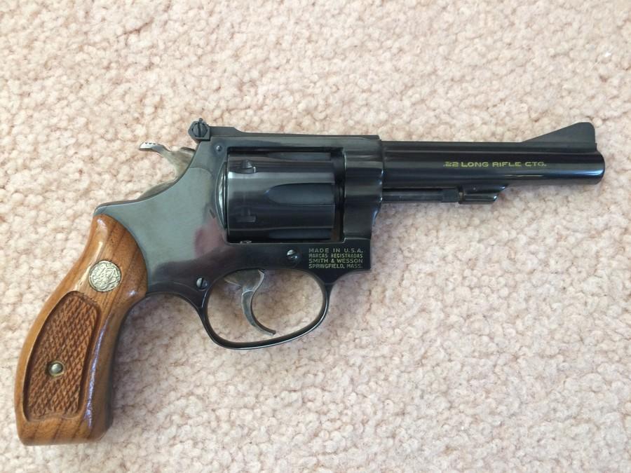Smith And Wesson Model 34-1   Gun Values Board