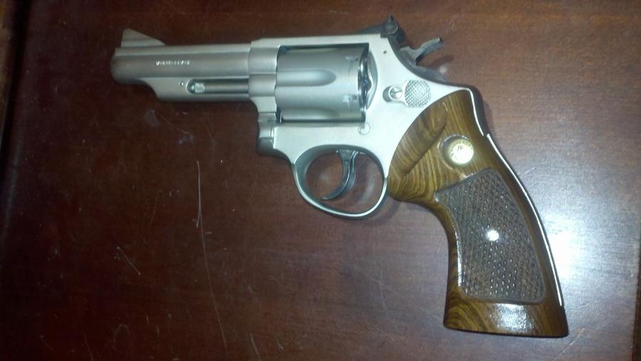 Taurus Model 66  357 Magnum, Blued With 4