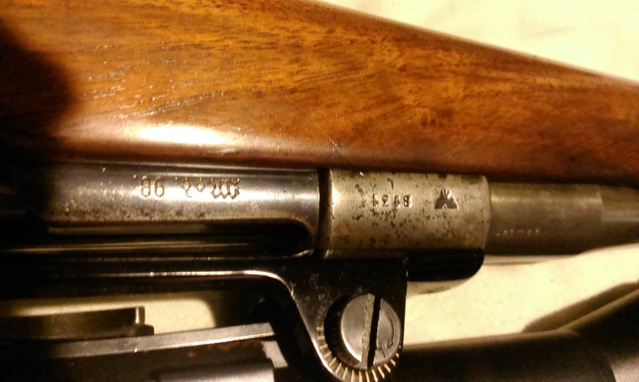 1898' 22-250 Rifle With Nazi Stamps | Gun Values Board