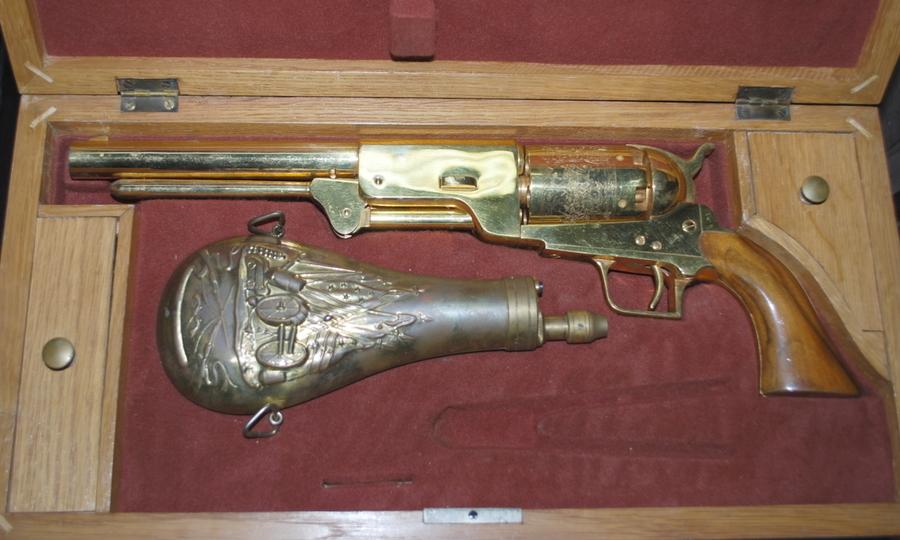 Gold Plated Colt Walker Or Uberti?   Gun Values Board