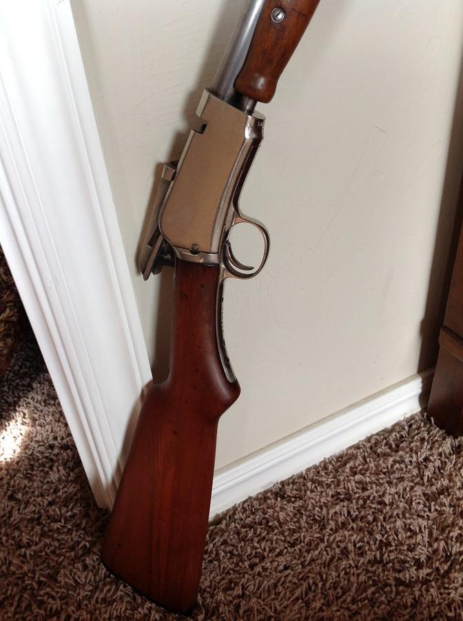 1906 Winchester Expert Full Nickel | Gun Values Board