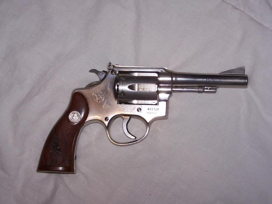 I Have A Brazil Taurus 38 Special , Its Stainless Steel W Rear