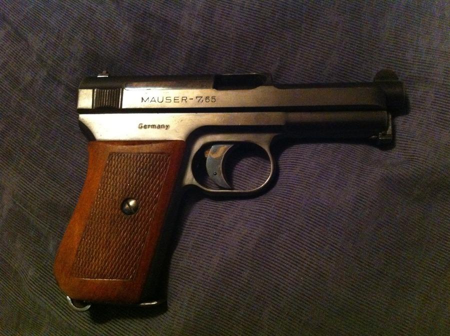 I Have A Mauser 7 65 Pocket Pistol  Serial Number 383561