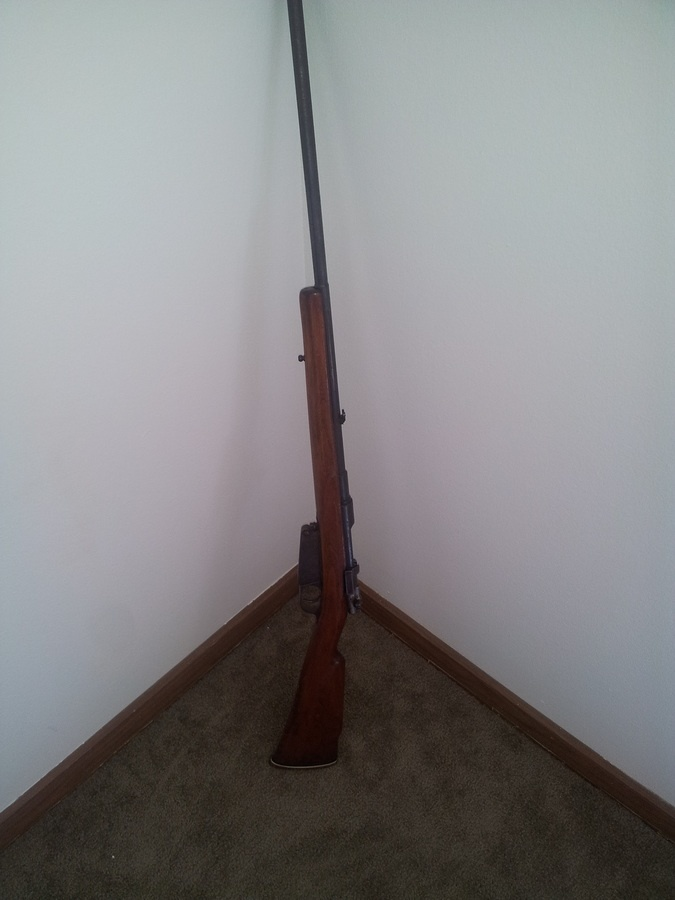 I Have An 1891 Mauser Modelo Argentino All Serial Numbers Match And