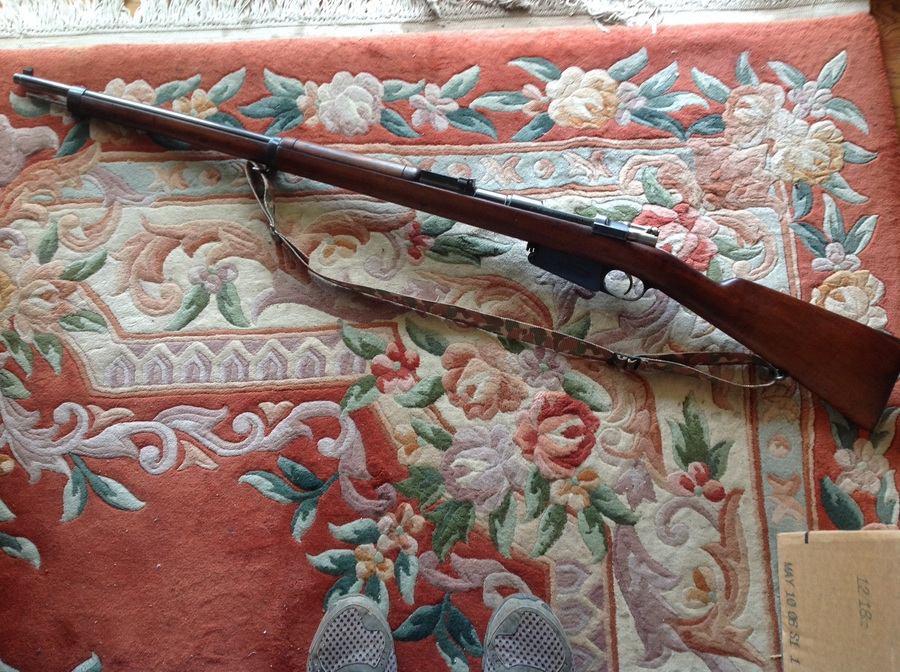 Argentine Mauser Model 1891 In 7 65 Made In Loewe, Berlin  All