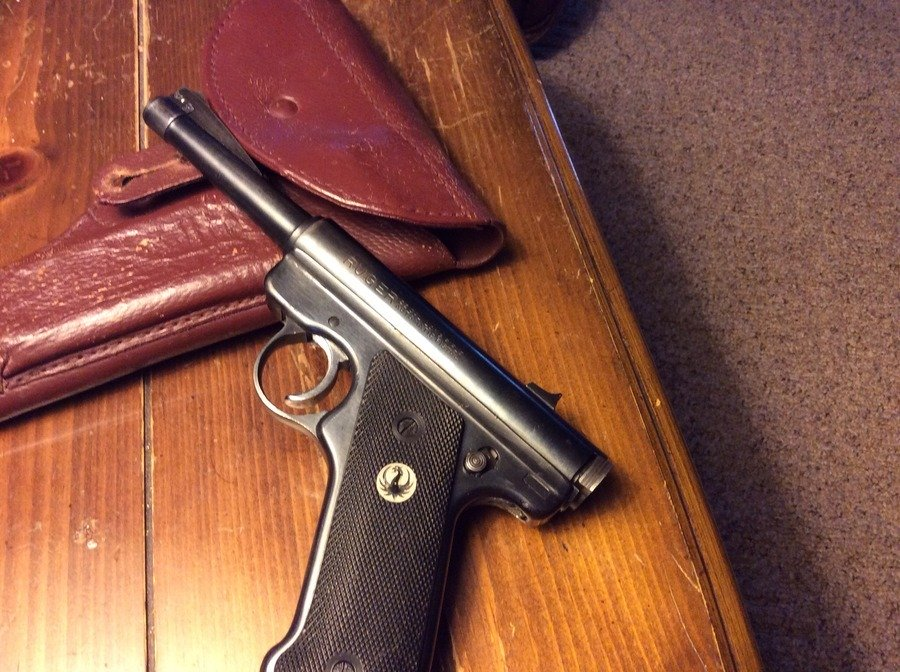 How Old Is My Ruger  22 Mk 1 Pistol? | Gun Values Board