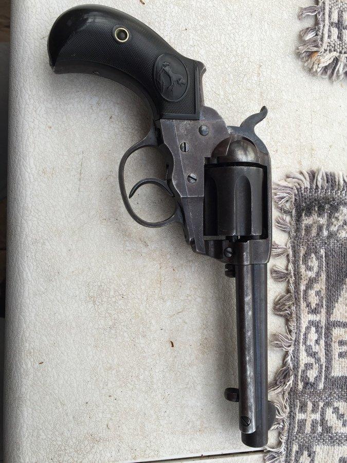 Colt D A  38 Pat  Sept  19, 1871, Sept  5 1874, Jan  19, 1875 | Gun