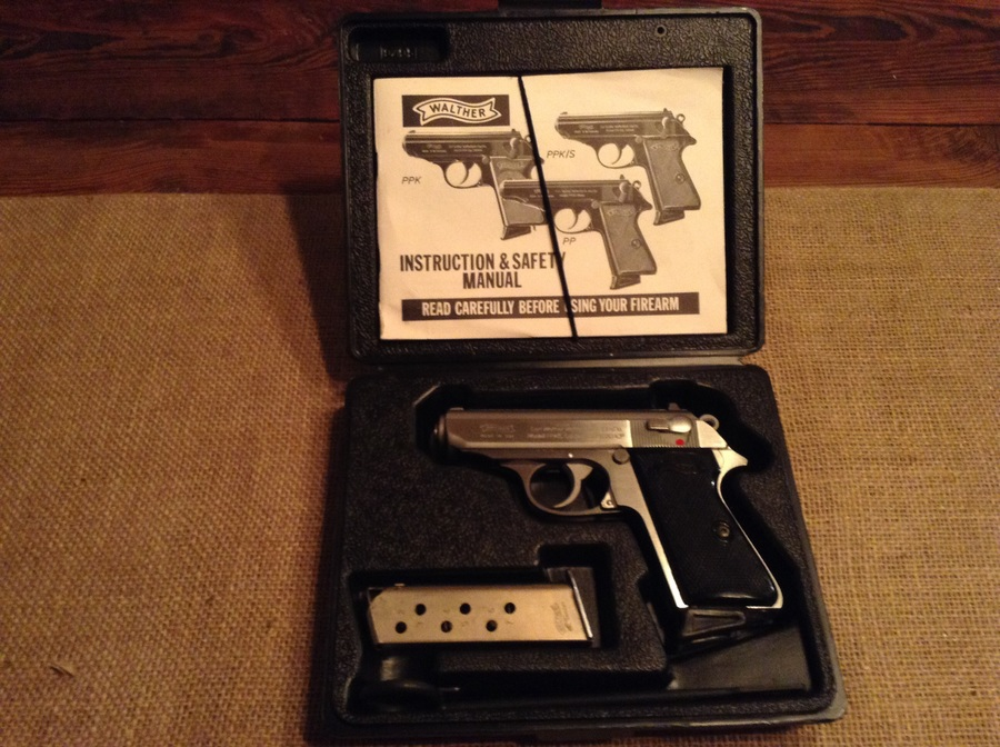 interarms walther ppks original box with manual cleaning rod and rh gunvaluesboard com Walther PPK S Recall Walther PPK S Parts Diagram