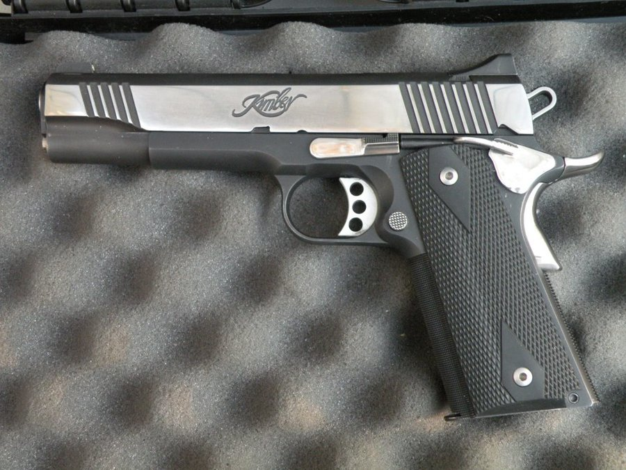 KImber Tactical Pro II - Not The Safest Choice To Say The