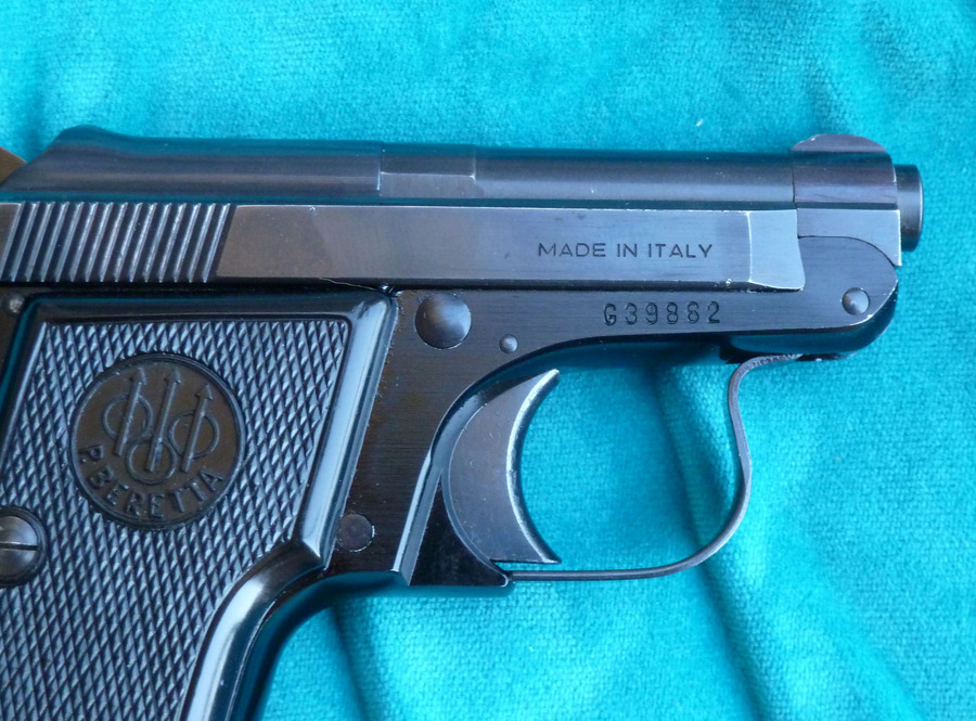 I Have My Late Father's P  Beretta Mod  950B 6 35  Serial No