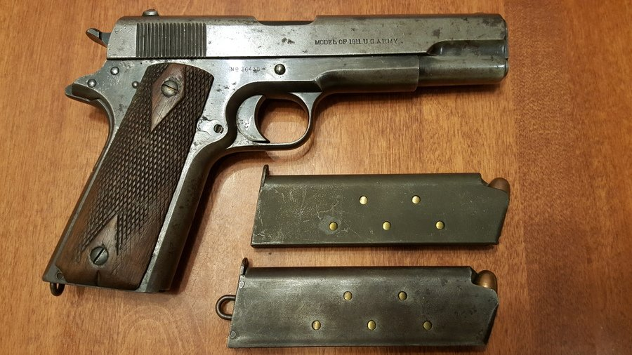 Value And Advice For 1913 Colt 1911, Serial Number 36xxx? | Gun