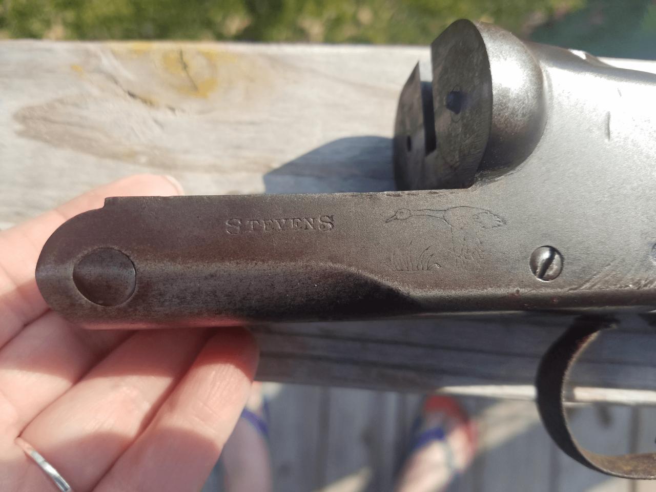 Help Identifying Model Of A Stevens 16 Gauge Double Barrel