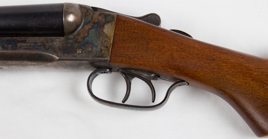 J Stevens Arms Springfield Double Barrel 12-Gauge | Gun